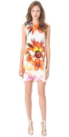 Summer Dress Perfection : Osklen Prime Print Sleeveless Dress