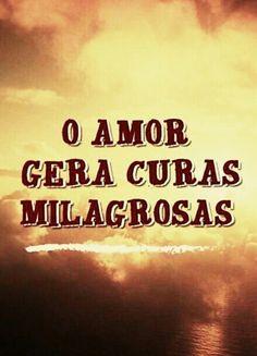 """O amor é """"cura-dor"""""""