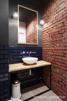 32 Best Shower Tile Ideas That Will Transform Your Bathroom - The Trending House Shower Tile, Bathroom Wallpaper, Bathroom Styling, Brick Bathroom, Faux Brick Walls, Bathroom Colors, Brick Wall, Bathroom Design, Bathroom Decor