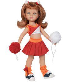 Poupée Cristi pompom girl www.poupee-paolareina.com - La boutique des poupées Paola Reina #dolls #poupées