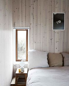Whitewashed pine boards set a soothing tone in this summer cabin  designed by architects @tegnestuen_lbb3  in North Jutland Denmark. See more of this inspiring home  and our Scandi 'get the look' special  in our May issue Photography @idaschmidt_photography for House of Pictures. #countrystylemag #countrystyleloves #interior design #bedroom  via COUNTRY STYLE MAGAZINE OFFICIAL INSTAGRAM - Celebrity  Fashion  Haute Couture  Advertising  Culture  Beauty  Editorial Photography  Magazine Covers…