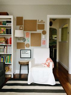 Fill a Blank Wall in Your Home: Lauren's Art Wall End Result — Apartment Therapy Weekend Project   Apartment Therapy