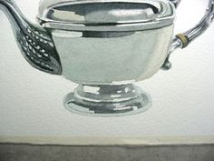 painting silver in watercolours
