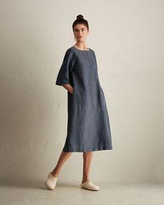 Women's Linen Easy Dress