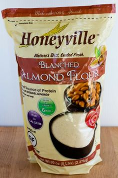 Honeyville blanched almond flour