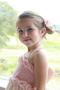 Adorable little girl's dress!