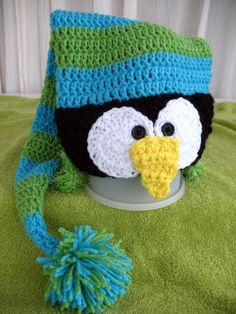 Just Chillin' Penguin Stocking Cap $25.00 created by The 2 Season Porch