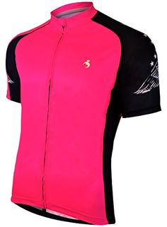 MUTEKI Mens Wings Cycling Jersey XLarge Hot Pink    You can find more  details by visiting the image link. (Note Amazon affiliate link) a40b2bf00