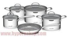 Sada hrncov Gourmet Miracle Nerez+GREBLON® C3  9-dielna Crockpot, Slow Cooker, Kitchen Appliances, Gourmet, Diy Kitchen Appliances, Home Appliances, Crock Pot, Crock Pot, Kitchen Gadgets