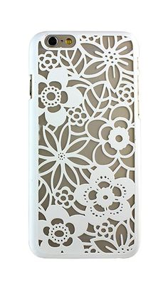 Atomic9 White Spring Flower Case for iPhone 6