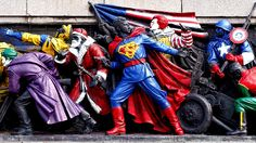 Russia Wants Bulgarians to Stop Painting Soviet Monuments To Look Like American Superheroes