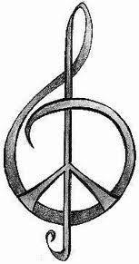 Music...Peace... tattoo?
