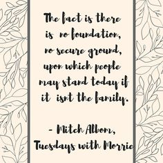 Tuesday's with morrie, Mitch albom