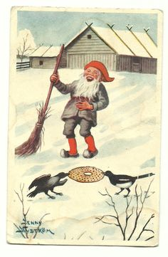 vintage Christmas postcards Sweden | Christmas : Sweden Store - vintage and more | Sweden Gifts | Dala ...
