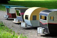 Pet Trailers, de ravissantes petites caravanes pour chiens ! - Conso - Wamiz