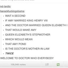 Welcome to Doctor Who.
