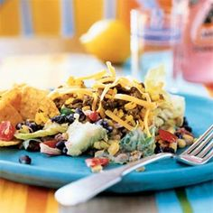 Taco Rice Salad Recipe (Cooking Light)