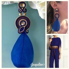 Veronique Creazioni Shibori, Soutache Earrings, Veronica, Elsa, Diy And Crafts, Jewels, Embroidery, Crochet, Bead