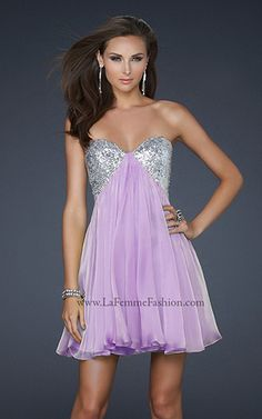 COCKTAIL DRESSES | La Femme Fashion 2012 - La Femme Prom Dresses - Dancing with the Stars