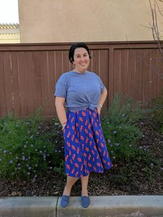 Chills And Pains Modest Lularoe Azure Skirt Size Xl Pretty Clothing, Shoes & Accessories