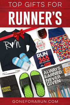 We've picked our Top Running Gifts for you for your favorite runner or treat yourself. Perfect for Christmas shopping or anytime of the year. Running Gifts, Running Gear, Top Gifts, Best Gifts, Race Medal Displays, Gift Suggestions, Gift Ideas, Race Bibs, Gifts For Runners