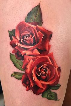 Feed your ink addiction with 50 of the most beautiful rose tattoo designs for men and women Blue Rose Tattoos, Red Tattoos, Cover Up Tattoos, Body Art Tattoos, Sleeve Tattoos, Tattoos For Guys, Rose Drawing Tattoo, Rose Tattoo Forearm, Watercolor Rose Tattoos