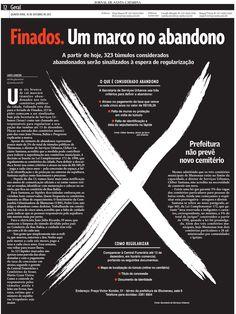 Finados. Edição: Raquel Vieira. Reportagem: Sarita Gianesini. Design: Maiara Santos.