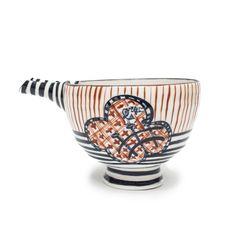 Nagasaki, Decorative Bowls, Porcelain, Projects, Red, Home Decor, Log Projects, Porcelain Ceramics, Blue Prints