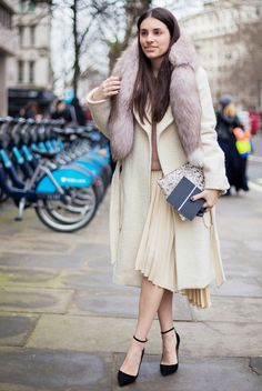 Day 13: Wear a vintage piece you've been saving. via @WhoWhatWear
