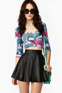 i need this shirt! jungle cat crop top