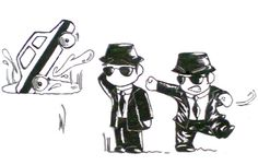 The Blues Brothers -w- by Acid-Lazy