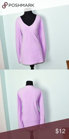 Adorable Light Lilac Colored Tunic In excellent condition! Very soft, lightweight, and comfortable! Buy 3 items and get 1 free plus 15% off your purchase total! Tops Tunics