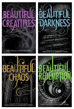 I love this series! So unique. It is from the point of view of a boy named Ethan Wate who falls in love with a girl who turns out to be a Caster (magical creature, sort of like a witch). Definitely suggest this series to those who loved the Mortal Instruments.