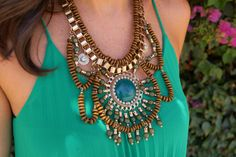 statement necklace 2014 - Buscar con Google