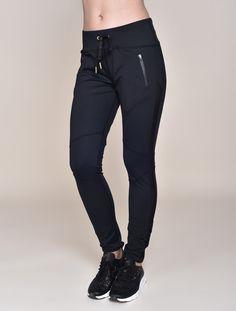 Alala fast track pants + Nike sneaker wedges