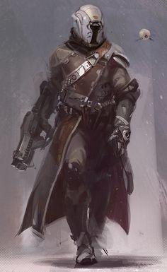 New member - Destiny warlock Helmet and costume build.