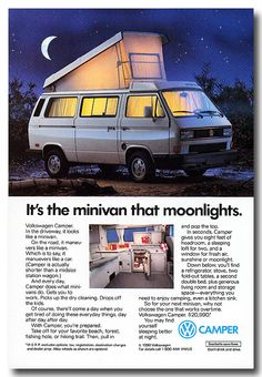 It's the minivan that moonlights :)