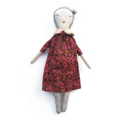 jess brown, handmade rag doll