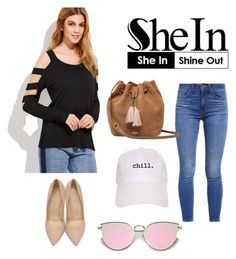 """She in"" by shraddha-narkhede ❤ liked on Polyvore featuring Levi's, Charlotte Olympia and UGG"