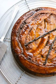 Caramelized bananas top this moist upside down cake, perfect just as it is, with whipped cream or ice cream. This is a cake that everyone will love!