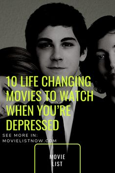 10 Life Changing Movies to Watch When You're Depressed. We list movies for you to watch when you are sad in this article. All works listed below, regardless of their genre, transmit to the viewer positive instances of the … Great Movies To Watch, Movie To Watch List, Be With You Movie, Movie List, Love Movie, Ver Drama, Prime Movies, World Movies, Film Life