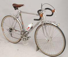 Alex Singer chrome randoneur PBP bike, late 70s