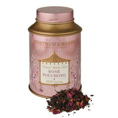 Fortnum & Mason Rose Pouchong Tea: In this speciality of China, rose petals are interleaved with this fragrant and delicate tea as it dries, and a few are left in for decoration, ensuring that the visual appeal matches the flavour. Best drunk in the afternoon and without milk to fully appreciate the delicate flavour.