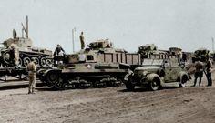 Toldi & Turan tanksTransport to front.