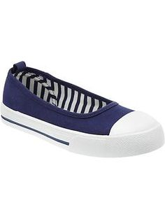 Girls Slip-On Canvas Sneakers in Goodnight Nora from Old Navy