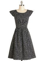 Emily and Fin Get What You Dessert Dress in Dots | Mod Retro Vintage Dresses | ModCloth.com