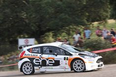 Ford Fiesta R5, Miguel Fuster, 2014