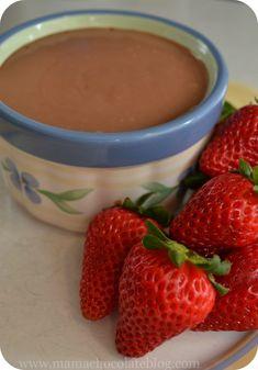 Greek Yogurt Nutella Fruit Dip - HEAVENLY!