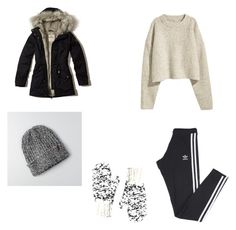 """That's get ready for winter"" by brooklyne200 on Polyvore featuring Hollister Co., adidas and American Eagle Outfitters"