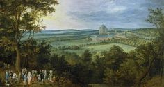 Jan Brueghel the Elder : The Archdukes Hunting (Museo Nacional del Prado (Spain - Madrid)) 1568-1625 ヤン・ブリューゲル (父)